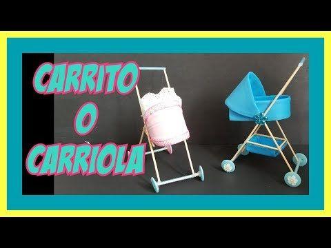como hacer un coche capazo o carreola para el bebe de barbie