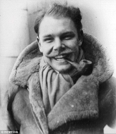 Wing Commander Roger Morewood pictured during his RAF days...