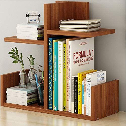 Desktop Bookshelf Desktop Bookshelf Simple Desktop Racks Home Office Storage Rack Student Bookcase Multi In 2020 Desktop Bookshelf Desktop Storage Home Office Storage