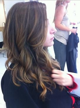 Dark balayage good for virgin hair, especially in dark so it goes dark to light