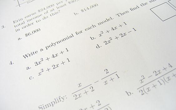 Algebra in Everyday Life