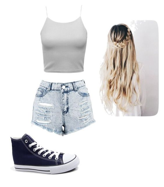 """""""Untitled #55"""" by ewalciar on Polyvore featuring Boohoo"""