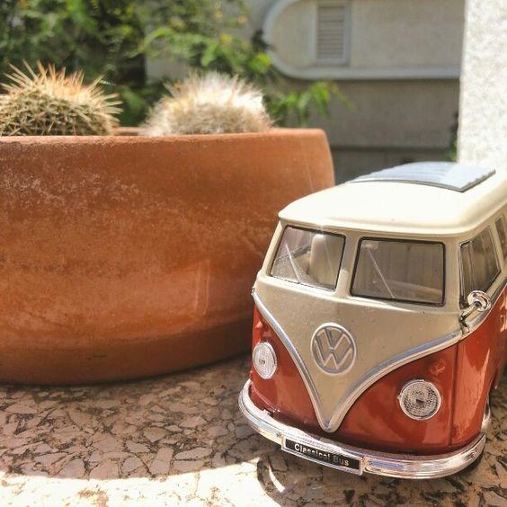 One step closer to my volkswagen dream #Volkswagen #bus #hippiespirits #freedom #sun #life #cactus #red #green #brown #travel #dream #relax