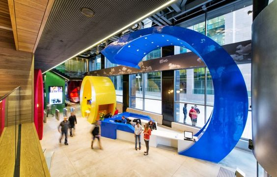 DOCKS GroundFloor 10 700x449 Inside The Epic Google Dublin Campus Office Design