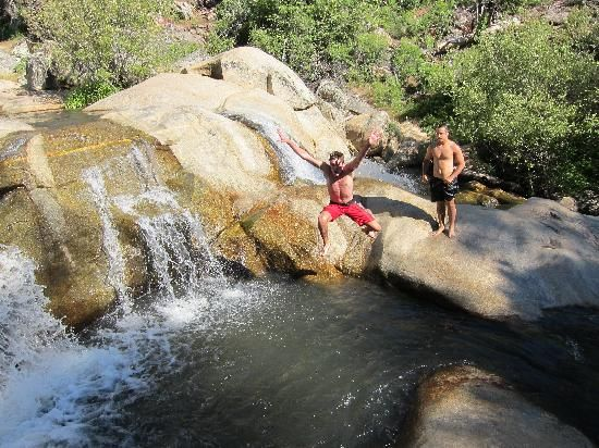 Green Valley Falls at Cuyamaca Park in San Diego County