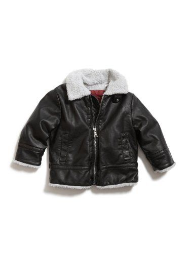 GUESS Kids Boys Toddler Bomber Jacket With Hat « Clothing Impulse
