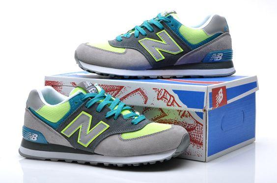 2013 nuevos zapatos auténticos New Balance hombres par de modelos de la serie 574 Classic