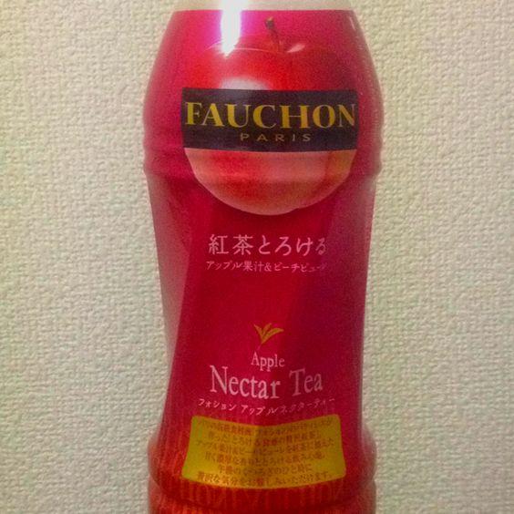 Thé glacé Fauchon pomme-pêche
