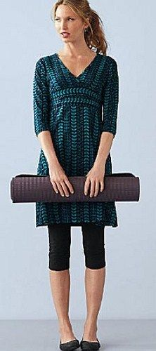 would like to start wearing tunic tops with leggings... just to ...