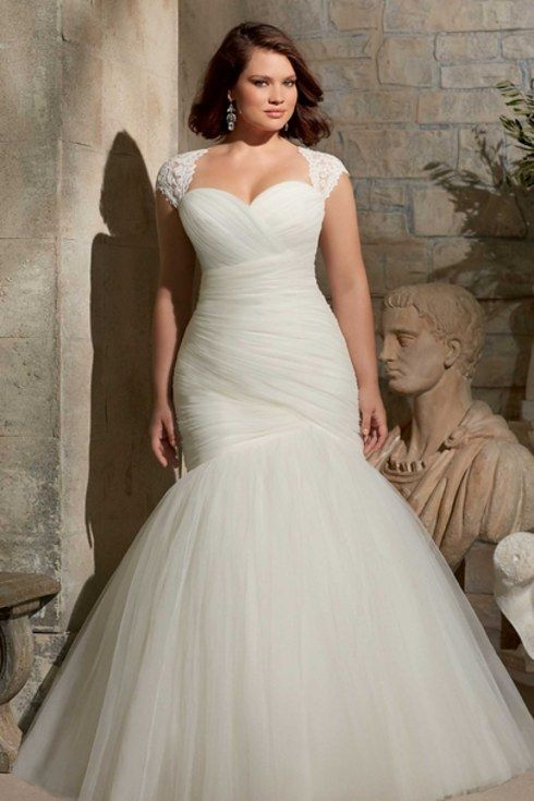 Jaw-Dropping Plus-Size Wedding Dresses
