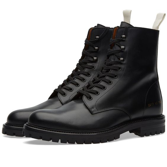 An unexpectedly rugged boot from leaders of the luxury sneaker market Common…