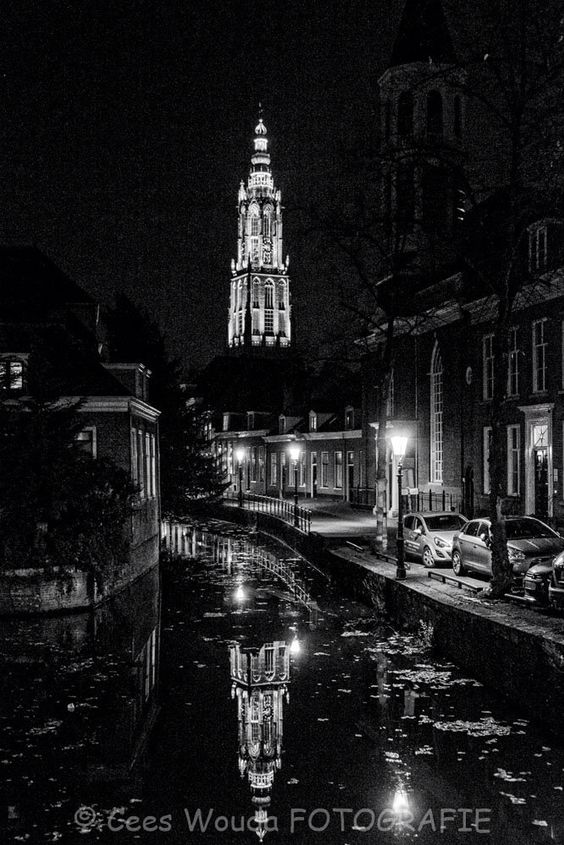 Amersfoort bij nacht