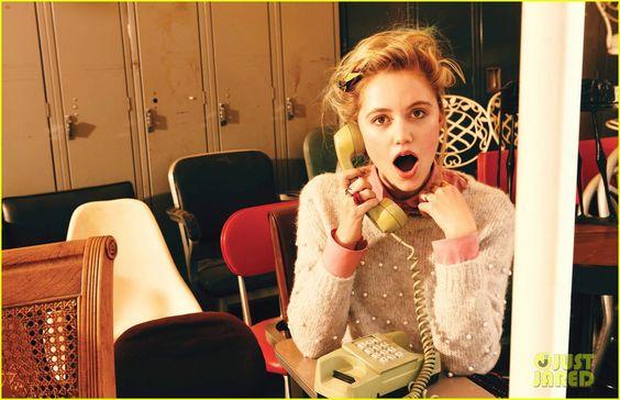 Drew Barrymore Photographs MAIKA MONROE for 'V'
