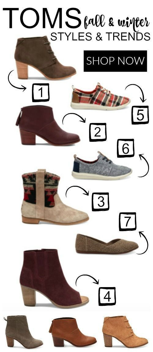 Toms Fall And Winter Shoe Styles Fashion Winter Shoes Ankle