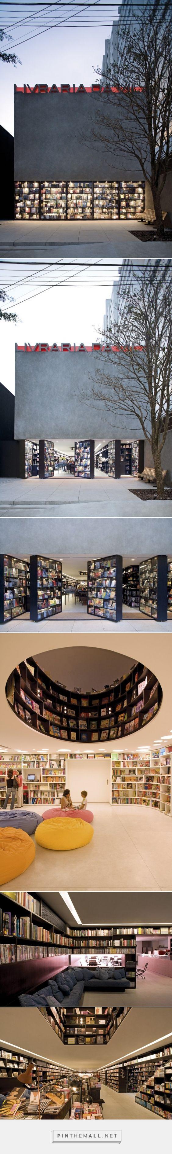 Livraria da Vila / Isay Weinfeld - created via http://pinthemall.net