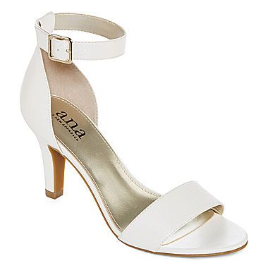 jcp | a.n.a® Zita Ankle Strap Sandals