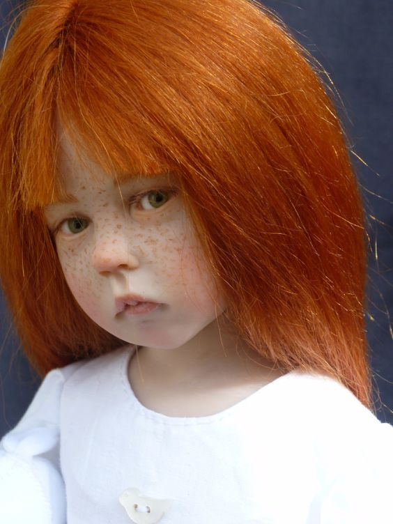 ADORABLE LITTLE RED HEAD……HER MOMMIE CAME FROM COUNTY CLAIRE, IRELAND --- WHERE…