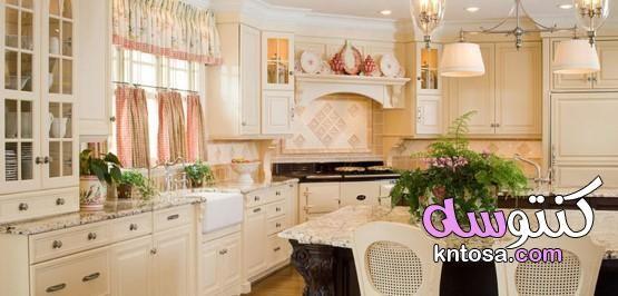 بالصور نختار ستائر للمطبخ بأسلوب بروفانس Country Kitchen Designs Country Kitchen Decor Country Kitchen