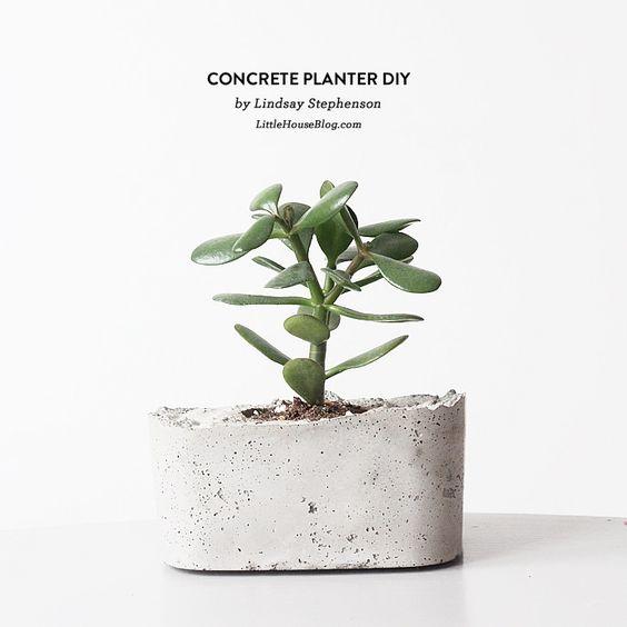 Matero de concreto #DIY (para l@s amantes de las cosas lindas