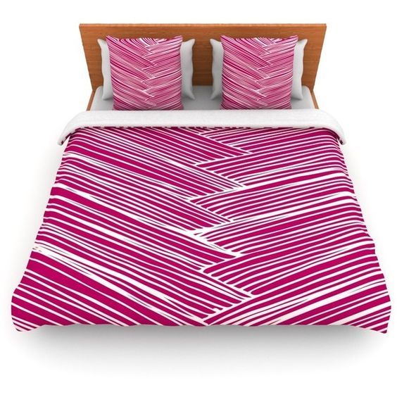Loom by Anchobee Fleece Duvet Cover Size: Twin