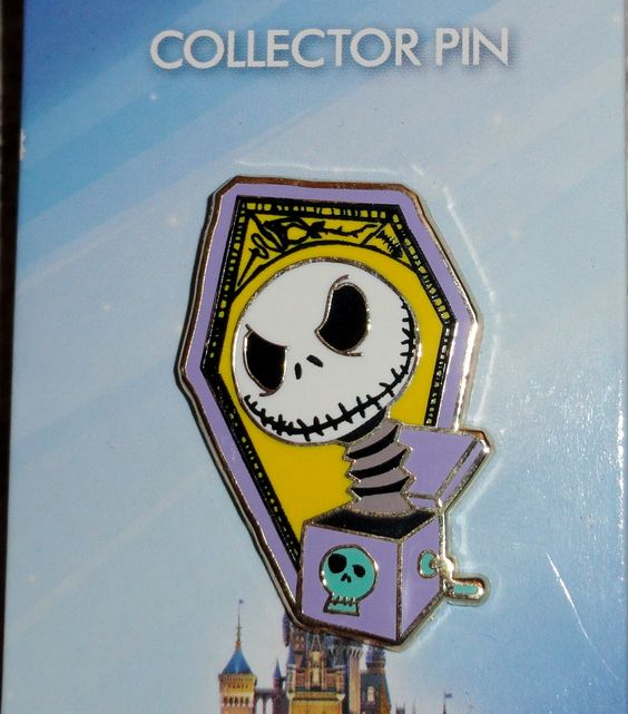 Nightmare Before Christmas Collectors Pin From Disneyland 2014