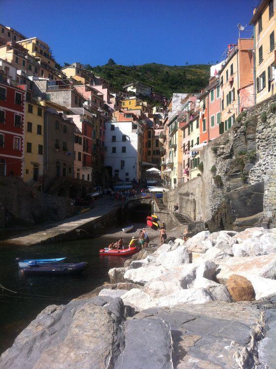 Lovely! Cinque de terre, Italy!