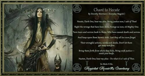 chant to Hecate