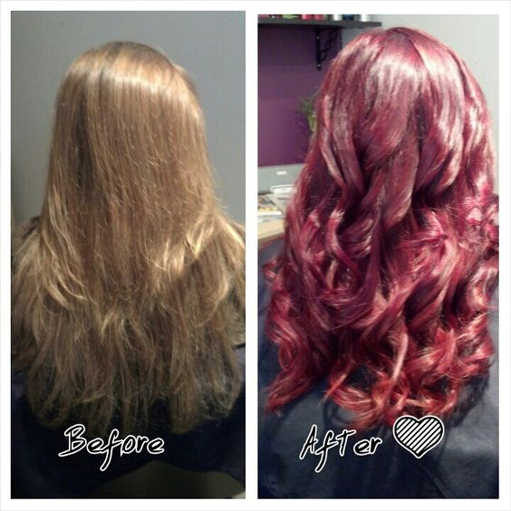 Red makeover!