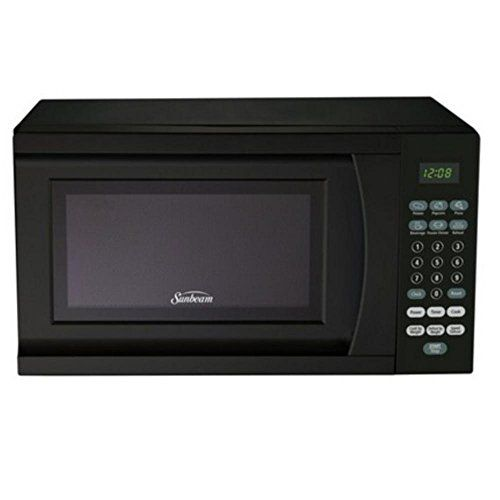 Sunbeam 0 7 Cubic Foot Microwave Oven Https Appliances Boutiquecloset Com Product Sunbeam 0 7 Cubic Countertop Microwave Black Microwave Compact Microwave