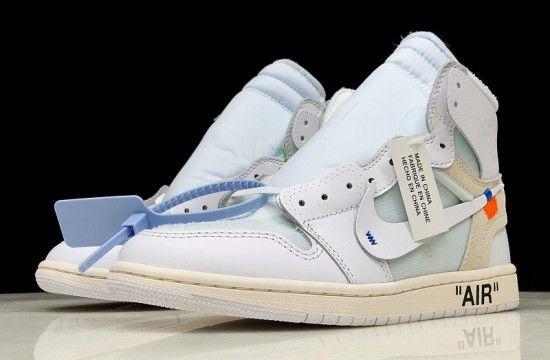 Off White Air Jordan 1 White Aq0818 100