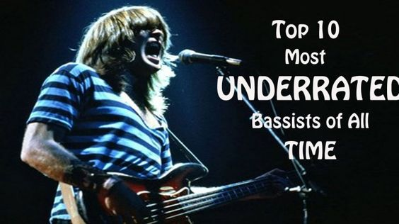 Top 10 Most Underrated Bassists Of All Time!