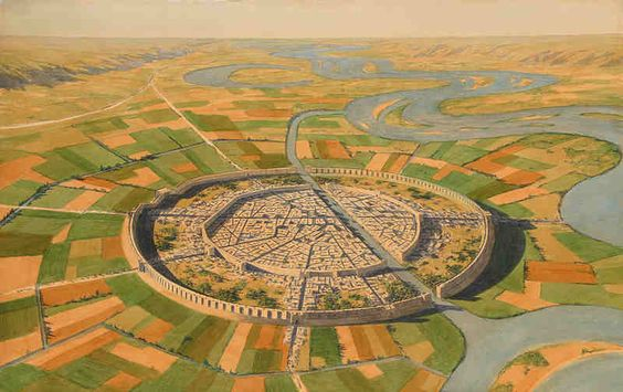 Ciudades antiguas de Mesopotamia.