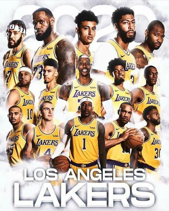 2019 2020 Lakercrew Lakers Team Best Nba Players Lakers Basketball