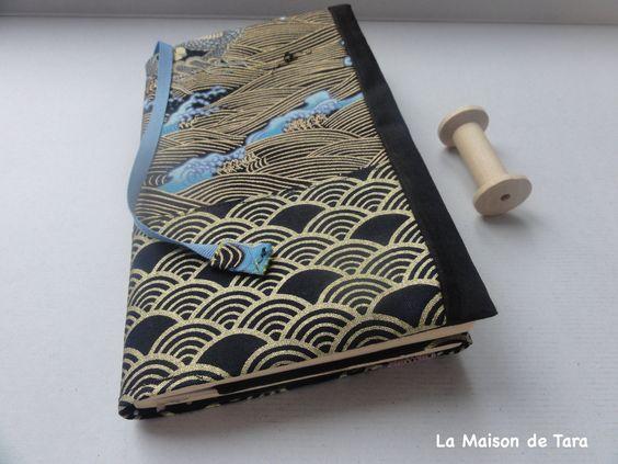 Couvre Livre De Poche Housse De Livre Ajustable Protege Livre Adaptable Reversible En Tissu Japonais 2 Choix Couvre Livre Tissu Japonais Protege Livre