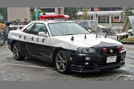 Nissan Skyline R34 GT-R Police Car
