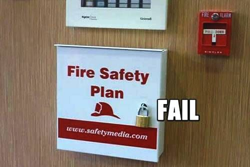 Fire Safety Plan  SafetyWorkplace Safety Humor