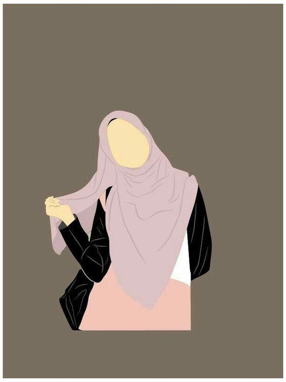 Kumpulan Gambar Kartun Muslimah 29