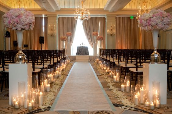 Aisle Runner Candles Amp Rose Petals I Might Do This