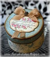 Stampin' Up!: Keepsake Boxes, Altered Boxes, Mercedes Apothecary, Paper Craft