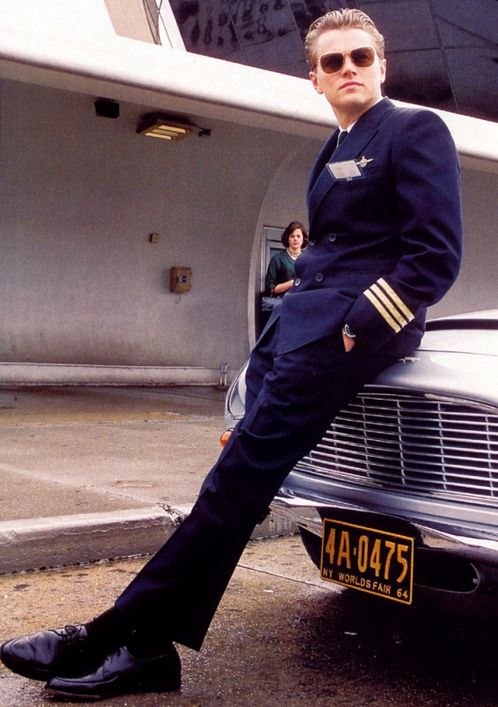 "Leo in ""Catch Me If You Can"". He can ""catch"" me ANY time he wants.. lol:"