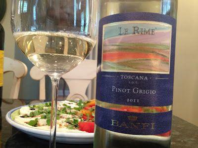 """2011 Castello Banfi Pinot Grigio, """"Le Rime"""""""