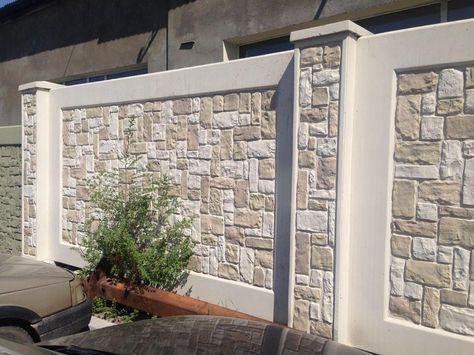 Concrete Compound Wall Design 54 Popular Ideas In 2020 Exterior Wall Design Fence Wall Design Compound Wall Design