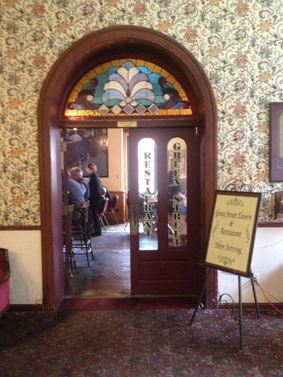 Green Street Tavern DeSoto House #Hotel #Galena #Illinois #Restaurant #Food