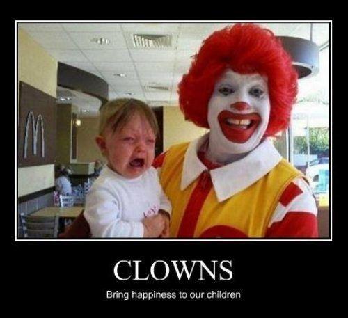 Scary clowns! (via @Janethato )