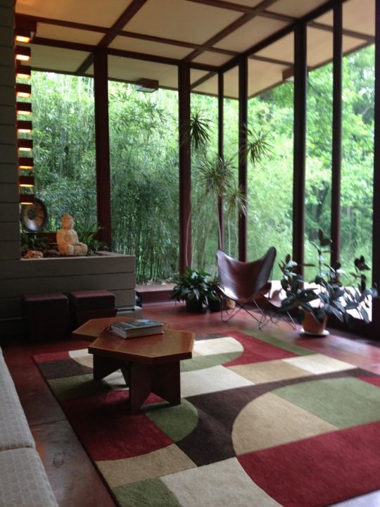 Louis Penfield House .1955. Willoughby Hills. Cleveland, Ohio. Usonian Style.  Frank Lloyd Wright | Frank Lloyd Wright- Usonian Homes | Pinterest |  Usonian, ...