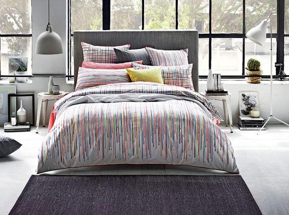 Moritz Papaya Bed Linen By Sheridan Harvey Norman New