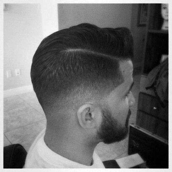 Low Fade Comb Over Hairstyles For Men