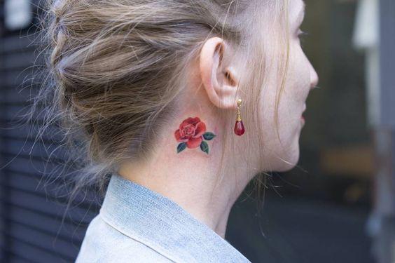 Bloom Tiny Tattoo