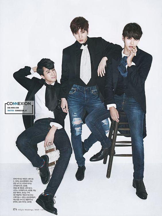 Ravi, Leo and N - VIXX