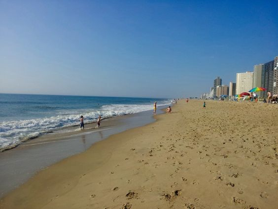 Quick Guide to Ocean City: the South End of the Beach is generally less crowded (Maryland)